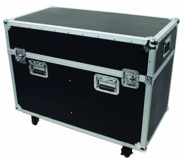 OMNITRONIC Kuljetuslaatikko kahdelle Moving Headille, pyörillä. Flightcase for 2x PHS-700/PHW-700, with castors