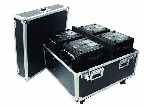 OMNITRONIC POISTUNUT.... TUOTE....Flightcase for 4x PHS-200 Moving Heads, with rollers/brakes