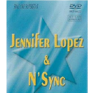 DVD SUPERSTAR KARAOKE Jennifer Lopez & N' Sync