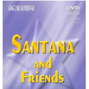 DVD SUPERSTAR KARAOKE POISTUNUT TUOTE...................Santana And Friends