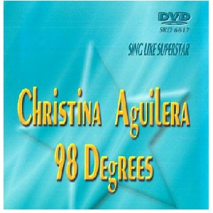 DVD SUPERSTAR KARAOKE POISTUNUT TUOTE...................Christina Aguilera & 98 Degree