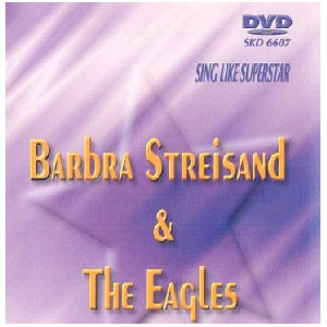 DVD SUPERSTAR KARAOKE BPOISTUNUT TUOTE...................arbara Streisand & The Eagles