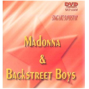 DVD SUPERSTAR KARAOKE POISTUNUT TUOTE...................Madonna & Backstreet Boys