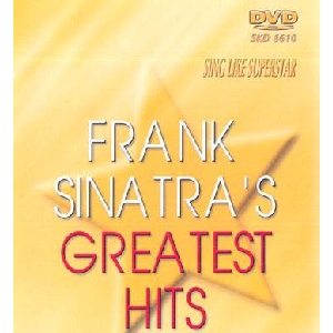 DVD SUPERSTAR KARAOKE POISTUNUT TUOTE...................Frank Sinatra's Greatest Hits