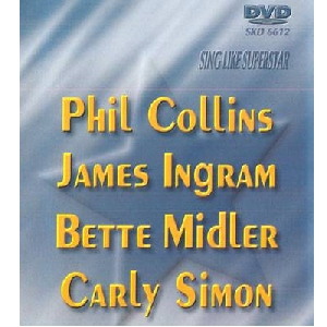 DVD SUPERSTAR KARAOKE Phil Collins/ Jame, discoland.fi