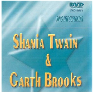 DVD SUPERSTAR KARAOKE Shania Twain/ Garth Brooks