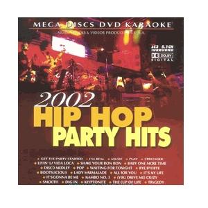 DVD MEGADISC Karaoke 2002 Hip Hop Party , discoland.fi
