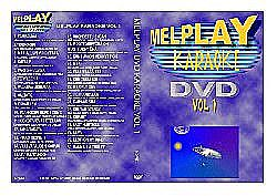 KARAOKE  DVD Melplay vol 1 Latauslevy Player3