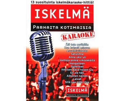 ISKELMÄKARAOKE Iskelmäkaraoke 1 DVD ka, discoland.fi
