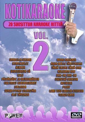 POWER Vol2 DVD karaoke levyllä kappalee, discoland.fi