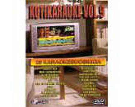 POWER Kotikaraoke Vol 9 DVD karaoke levy, discoland.fi