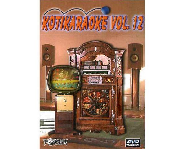 POWER Kotikaraoke Vol 12 DVD karaoke lev, discoland.fi