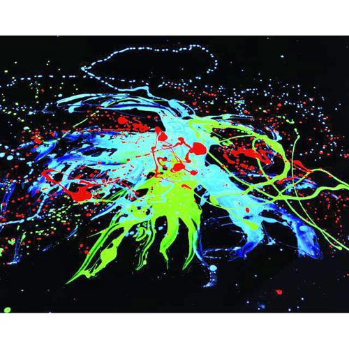 EUROLITE UV-active paint, violet 750ml L, discoland.fi