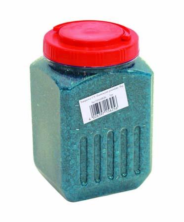 EUROLITE UV granulate turquoise 1kg, discoland.fi