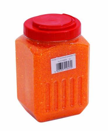 EUROLITE UV granulate orange 1kg, discoland.fi