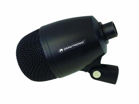 OMNITRONIC KDM-500 Uni-directional Kick Drum microphone