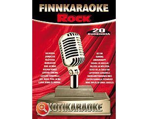 FINNKARAOKE 12. Rock, kotikaraoke DVD 20, discoland.fi