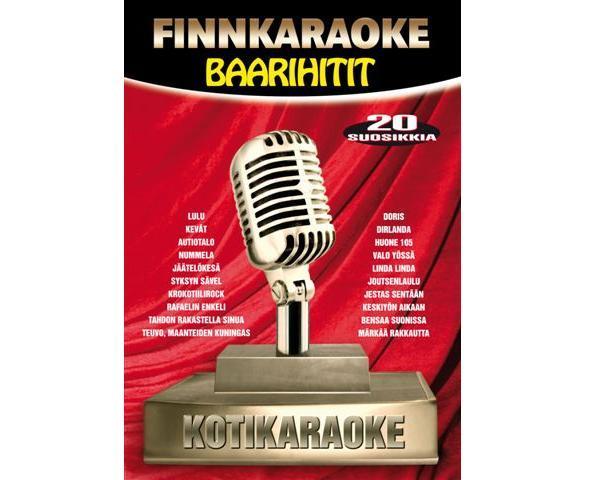 FINNKARAOKE 3. Baarihitit (DVD), discoland.fi