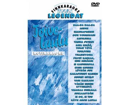 FINNKARAOKE Toivelaulut kareoke DVD levy, discoland.fi
