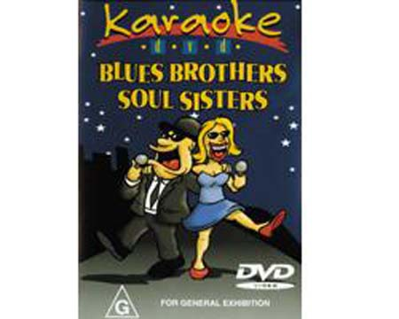 DVD MRA POISTUNUT...TUOTE...Blues Brother Soul Sisters