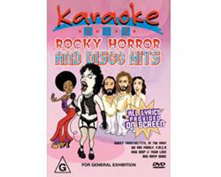 DVD MRA POISTUNUT...TUOTE...Rocky Horros, discoland.fi