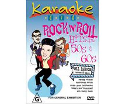 DVD MRA POISTUNUT...TUOTE...Rock´N´Roll Hits Of The 50s & 60s