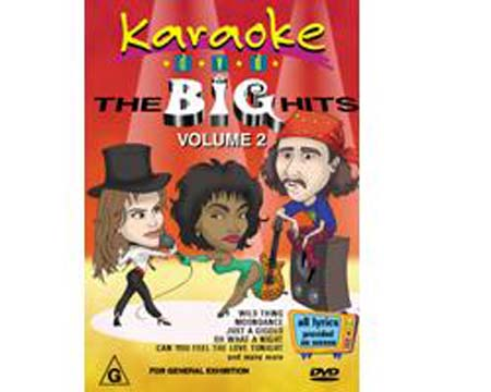 DVD MRA POISTUNUT...TUOTE...The Big Hits Vol.2
