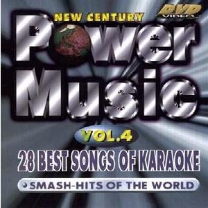 KARAOKE DVD Power Music Vol. 4, discoland.fi