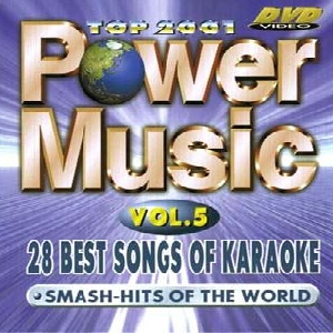 KARAOKE DVD POISTUNUT TUOTE................Power Music Vol. 5