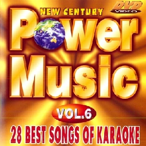 KARAOKE DVD Power Music Vol. 6, discoland.fi
