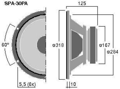 MONACOR SPA-30PA 12