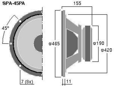 MONACOR SPA-45PA  18