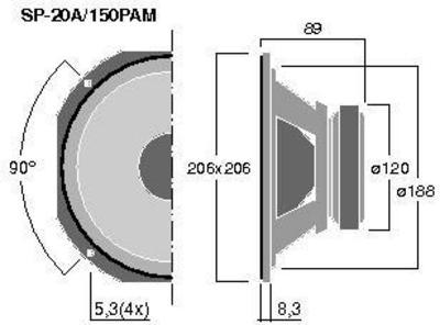 MONACOR SP-20A/150PAM  8