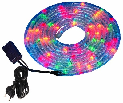 EUROLITE Icy 4 color ropelight 7m with c, discoland.fi