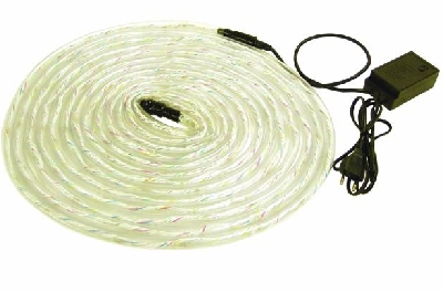 EUROLITE White ropelight 10m with controller