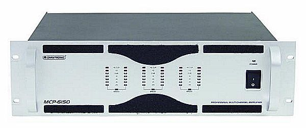 OMNITRONIC MCP-6150 6x 150W monikanava p, discoland.fi