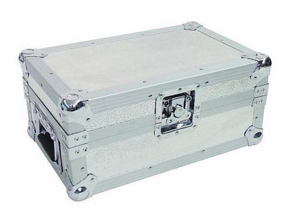 OMNITRONIC Loppu!CD-soittimen kuljetuslaatikko, CDJ-100, CDJ-200, CDJ-400, CDJ-350, NDX400 CD-Player carrying case, silver, Type 1