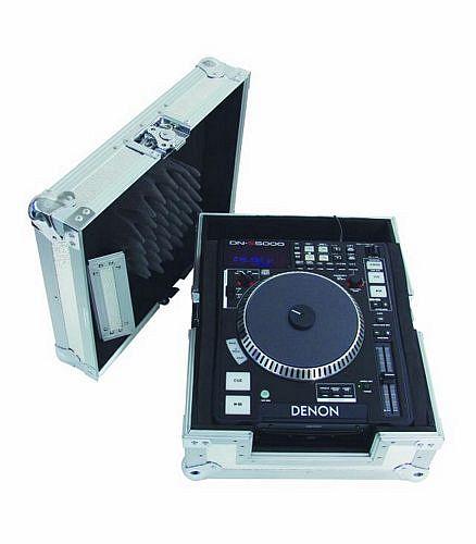ROADINGER CD-soittimen kuljetuslaatikko sopii CDJ-1000, CDJ-800, CDJ-400 ja CDJ-200 sekä Denonin single soittimet! CD player carrying case, black, type 2