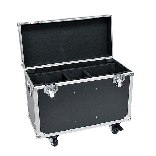 OMNITRONIC Kuljetuslaatikko kahdelle Moving Headille, pyörillä. Flightcase for 2x PHS-150/220 Moving Heads, with castors