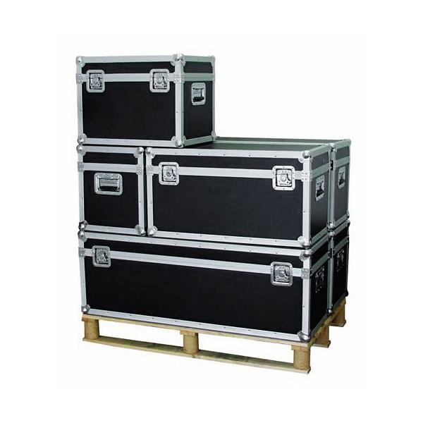 OMNITRONIC Kuljetuslaatikko yleiskäyttöön 80 x 41 x 44cm on laadukas case yleiskäyttöön. maksimi kantavuus 50Kg. Voidaan asentaa erikseen ostettavat pyörät. Paino 11,5kg.