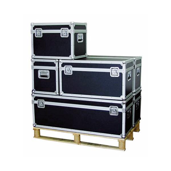 ROADINGER Kuljetuslaatikko yleiskäyttöön 120cm x 40cm, molemmissa päissä laadukaat kantokahvat, 6mm vaneria, 2kpl isoa perhoslukkoa. Kantavuus  50kg.  Sisämitat 1180x 410x 355mm sekä ulkomitat 1215 x 415 x 455 mm, paino 15,00kg.
