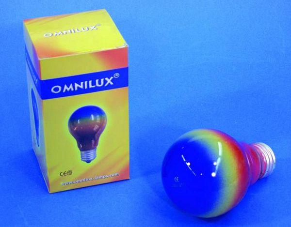 OMNILUX A19 25W E27-polttimo, multicolor, discoland.fi