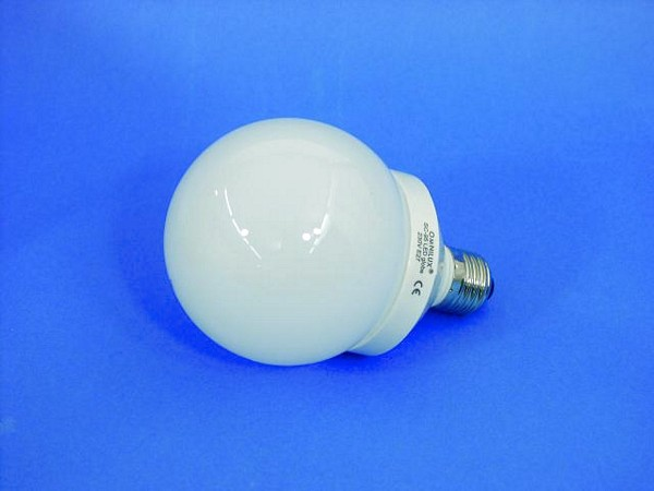 OMNILUX LED-lamppu globe 95mm blue E27