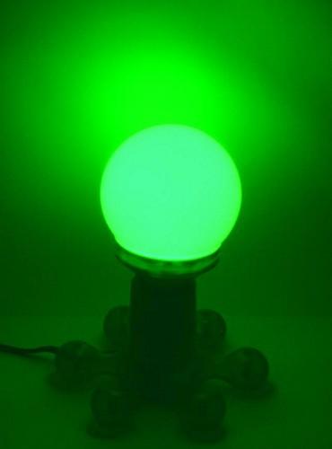 OMNILUX LED-lamppu globe 95mm green E27