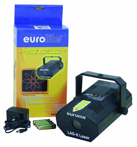 EUROLITE Poistunut tuote!!!LAS-6 Laser with transformator