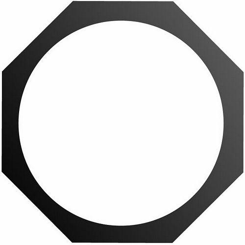 EUROLITE Octogonal filter frame,PAR-64 P, discoland.fi