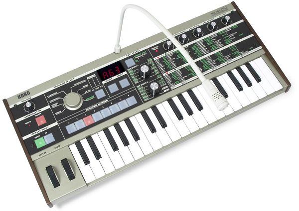 KORG Micro KORG, 37 kosketinta, 4-äänen polyfonia.