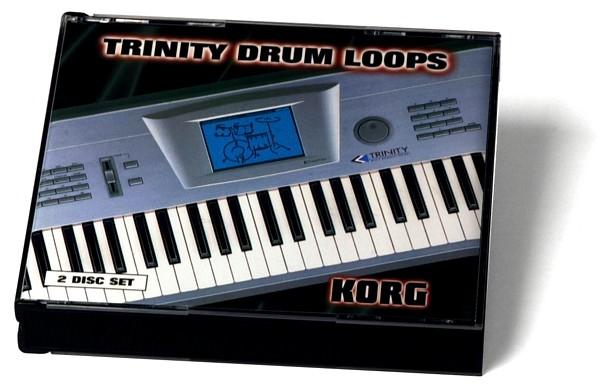 KORG TCD-2S, Trinity Drum Loops CD, discoland.fi