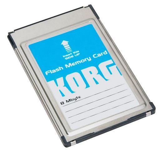 KORG FMC-8MB, PCMCIA-kortti 8Mb lisämui, discoland.fi