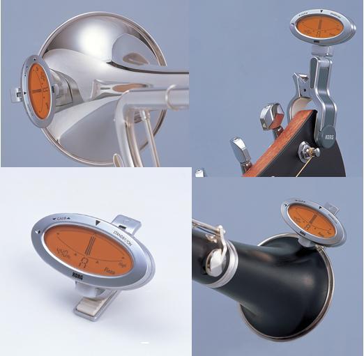 KORG AW-1, Kromaattinen minikokoinen viritysmittari suunniteltu akustisille puhallin-, jousi- ja kielisoittimille
